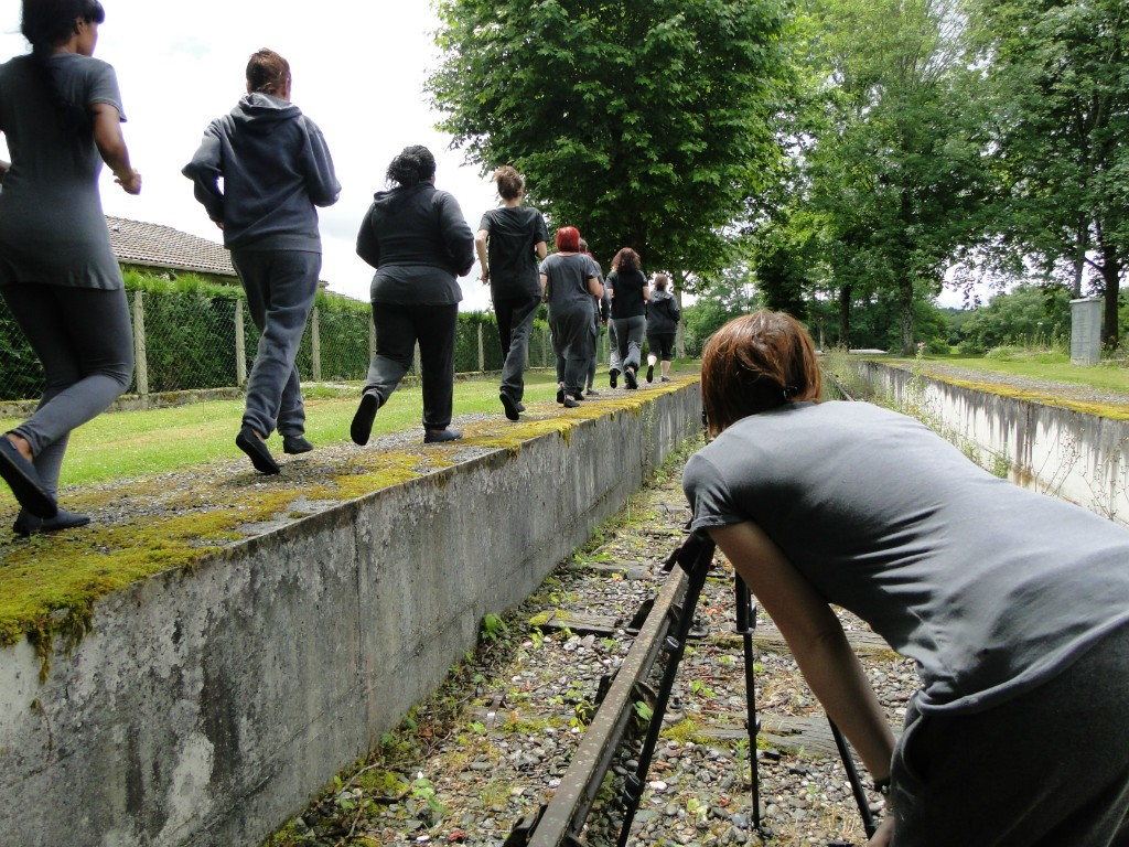 tournage du film de Bertille Bak