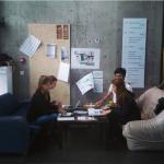 Groupe d'étudiants auteurs de la Cabane