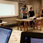 Présentation des projets étudiants devant le Jury