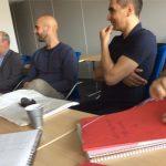 réunion avec les commanditaires, Normal Studio et Poindefuite